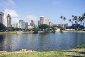 erster Tag in Honolulu