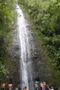 der Manoa Wasserfall