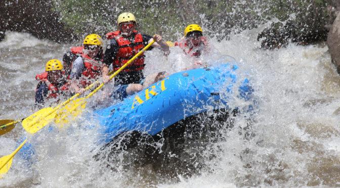 31. Juli: Wildwater Rafting