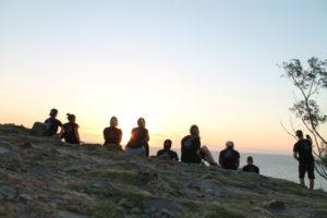 Sonnenaufgang im Nationalpark beobachten