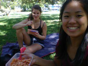 Picknick im Roma Street Park